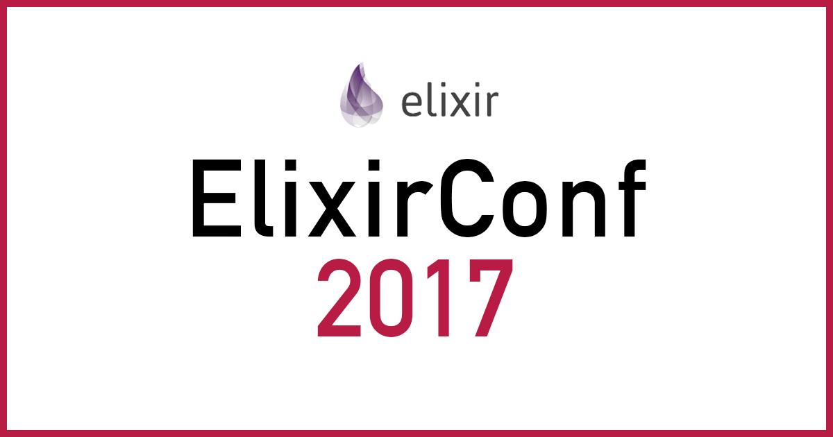 Elixir CONF Japan 2017 に GOLD SPONSOR として協賛します